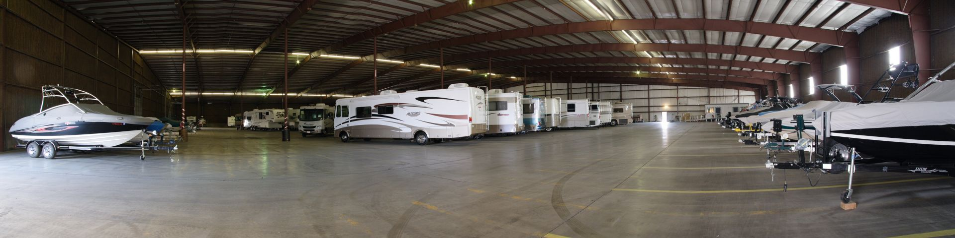 Photo gallery rv and boat storage indoor rv and boat for Rv boat storage buildings